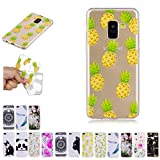 V-Ted Coque Samsung Galaxy J6 2018 Ananas Silicone Ultra Fine Mince Bumper Housse Etui Cover...
