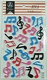 Musique thèmes de musique de notes Formulaire Autocollants - Notes Musical design