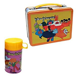 Entertainment Earth - The Beatles set valisette Lunchbox Yellow Submarine Retro Style