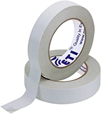 ETI Double Side Tissue Tape 2 Roll Of 12mm X 50Mtr