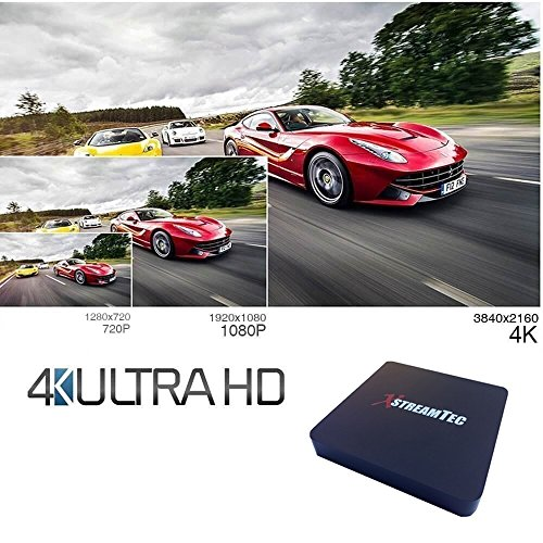 XstreamTec Kodi Android TV box Media Player - Kodi / XBMC MX
