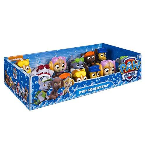 Paw Patrol Pup Squirters Animales de juguete para el baño Multicolor - juegos de baño, juguetes y pegatinas (Animales de juguete para el baño, 3 año(s), Niño/niña, Multicolor, 66 mm, 66 mm)