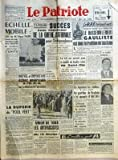 Telecharger Livres PATRIOTE LE N 2274 du 02 02 1952 ECHELLE MOBILE TANDIS QUE M EDGAR FAURE PRESENTE SON PROJET DE BLOCAGE DES SALAIRES LES TRAVAILLEURS REALISENT PARTOUT L UNITE LES SOCIALISTES VOTENT POUR LA PRISE EN CONSIDERATION DU PROJET EDGAR FAURE LA DUPERIE DU POOL VERT PAR WALDECK ROCHET NOUVEL ET IMPORTANT ECHEC AMERICAIN A L ONU SUR LA DEFINITION DE L AGRESSION TUNISIE SUCCES SANS PRECEDENT DE LA GREVE NATIONALE POUR L INDEPENDANCE PENDANT 24 HEURES TUNIS A RESSEMBLE A UNE VILLE MORTE A KE (PDF,EPUB,MOBI) gratuits en Francaise
