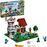 مجموعة البناء ماينكرافت بوكس 3.0 21161 مع ستيف، أليكس، كريبر وملحقات، لعبة للأطفال من سن 8 سنوات فأكثر (564 قط
