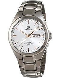Time Piece Herren-Armbanduhr Titan Analog Quarz TPGT-50330-11M