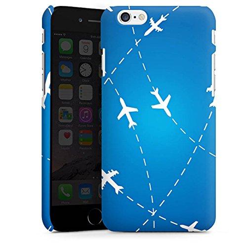 Apple iPhone 7 Silikon Hülle Case Schutzhülle Flugzeug Reise Urlaub Premium Case matt