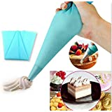 Moon 30cm- Professional Silicone Icing/Piping Bag for Cake/Pastry/Cupcake Decorating (Reusable)