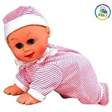 #8: Smiles Creation Cute and Clever Crawling Baby with Music, Crawling and Dancing Baby Toy for Kids.