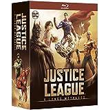 Justice League - 5 longs métrages: Le paradoxe Flashpoint + Guerre + Le Trône de l'Atlantide + Dieux et monstres + vs les Teen Titans