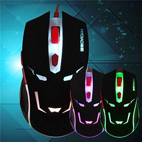 Ba1 Pc (Sut H7 USB verdrahtete Büro Gaming Maus schnur 6 Taste 800-2000DPI)