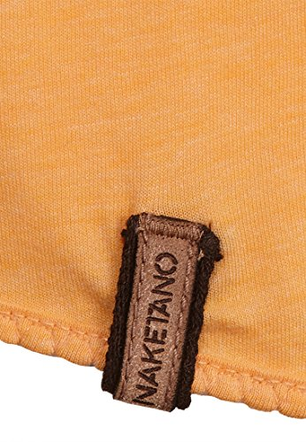 Naketano Female Shortsleeve Ballad No.1 VII Heritage Yellow Melange