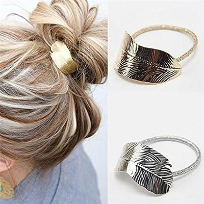 DAEDALUS Lady Leaf Hair Band Rope Headband Elastic Ponytail Holder : everything £5 (or less!)