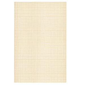 Clairefontaine A4 White Vellum Graph Pad, 90 g, 50 Sheets