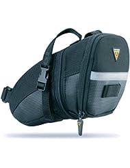 Topeak Aero Wedge Pack Strap - Bolsa para sillín - negro Talla mediano 2016 Bolsa sillín