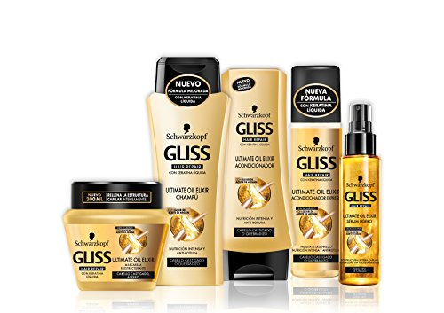 Gliss Champú Ultimate Oil Elixir   Paquete de 6 x 250 ml   Total: 1500 ml