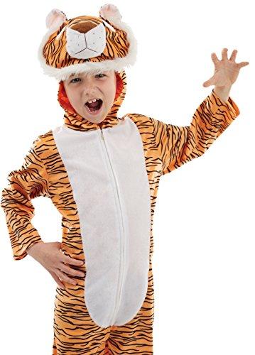 Imagen de tigre  niños disfraz  medium  124cm  edad 6 8 alternativa