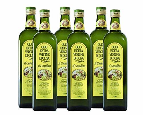 """Olio Extra Vergine """"Il Cavallino"""" 6 bottiglie lt1"""