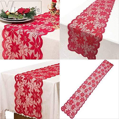 Moderne Jesus Kostüm - WSJDE 1 Stück Red Maple Leaf Tischläufer Für Hochzeit Party Decor Moderne Tischläufer Valentinstag Roten Weihnachtsstern Stoff Tischdecke