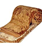 TIJARIA CLASSIC GOLD DOUBLE BLANKETS