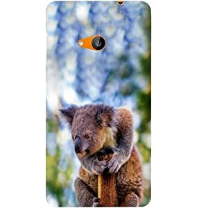 Casotec Koala Beast Design Hard Back Case Cover for Microsoft Lumia 535