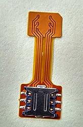 Hybrid SIM Slot Extender - Run 2 SIMs and Micro SD card at a time, Nano Sim