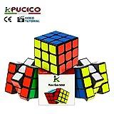Pucico Cubo 3x3 Originale Magico Professionale Speedcube di Ultima Generazione Puzzle Rompicapo per Bambini e Adulti Antistress Attossico