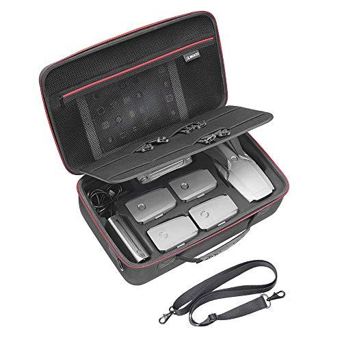 RLSOCO Travel Case Tasche für DJI Mavic 2 Pro/Mavic 2 Zoom Fly More Kit -Fit für volle Mavic 2 Zubehör: Fernbedienung, 5 x Batterien, Ladegerät, Ladehub, Tablet und mehr (kann TSA Lock setzen)