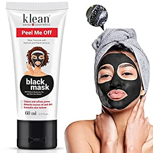 premium blackhead peel me off maske von klean cosmetics schwarze akne und mitesser entferner. Black Bedroom Furniture Sets. Home Design Ideas