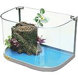 CROCI Eco New Aquarium de Tortue 30 x 20 x 20 cm