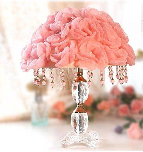 Nozze regali Comodino lampada Rose Wedding lampada da tavolo decorativa di camera