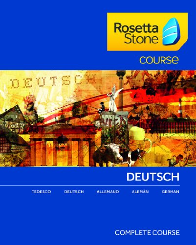 Rosetta Stone Course - Komplettkurs Deutsch für Mac [Download]