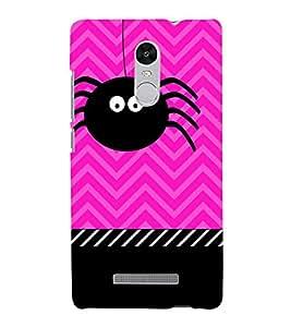 Fuson Designer Back Case Cover for Xiaomi Redmi Note 3 :: Xiaomi Redmi Note 3 Pro :: Xiaomi Redmi Note 3 MediaTek ( Sweet Animated Teddy Spider Rhino Tiger Tatto )