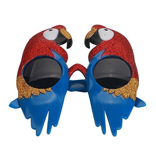 enbrille Neuheit Papagei Brillen Fancy Dress Glasses Party Favors Foto Prop ()