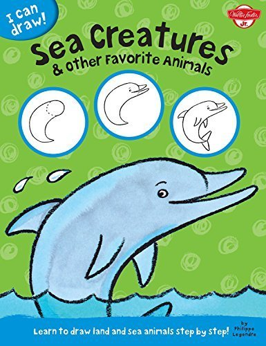 Sea Creatures & Other Favorite Animals: Learn to draw land and sea animals step by step! (I Can Draw) by Walter Foster Jr. Creative Team (2014-09-01)