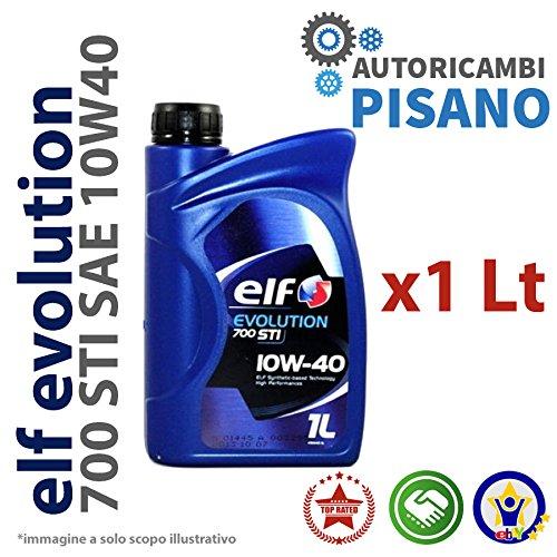 Elf 197957 Lubrificante Motore Competition STI 10W40, 1 litro