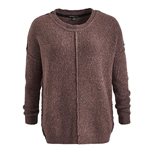 Khujo Lisanne - Strickpullover light plum wine melange