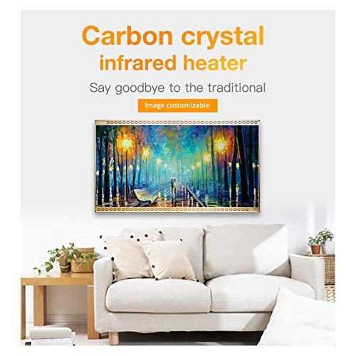 HL Heizung Panel Gut Montiert Carbon Kristall Infrarot Heizung Bad Home Office Kühler 800 kaufen  Bild 1*