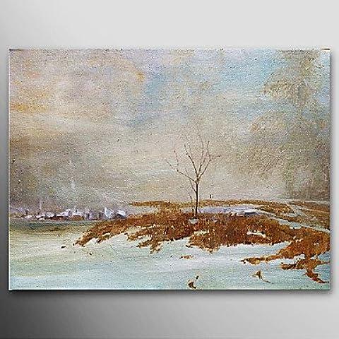 F.Latoo Dipinto a mano pittura a olio astratta della fauna