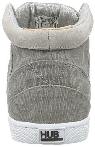 Hub Herren Panama C06 Sneaker Grau (greyish/wht 015)