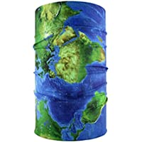 headloop mappa del mondo Loop Bandana multifunzione sciarpa foulard testa panno in (Pirata Mappa)