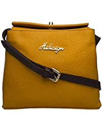 Hidesign Women's Handbag (Orange)
