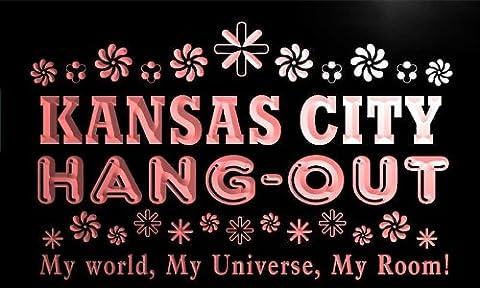 pq2215-r Kansas City Hang Out Girl Kid's Princess Room Neon Light Sign