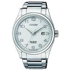 Citizen Reloj Análogo clásico para Hombre de Energía Solar con Correa