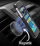 BestBuy-24 Universal Magnet Auto-Handyhalterung mit Befestigung an Lüftung/Lüftungsschlitzen, passt für alle Smartphone Handy wie iPhone, Samsung-Galaxy, LG, Huawei,HTC, Sony, Wiko usw.