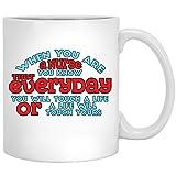 """Taza de café con texto en inglés""""When You Are A Nurse-IcuEducator Practitioner Nursing School Men Women, cerámica, blanco, 1-11oz"""