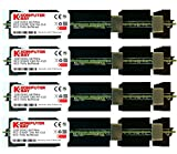 Komputerbay 8GB (4x 2GB) DDR2 PC2-5300F 667MHz CL5 ECC Fully Buffered 2Rx4 FB-DIMM (240 PIN) con dissipatori di calore per i computer Apple