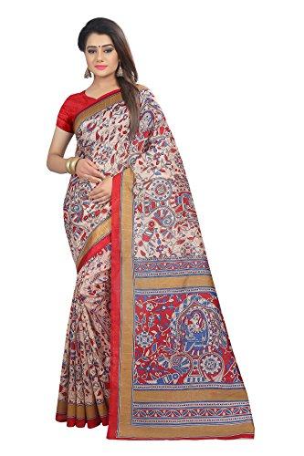 Zypara Women\'s Art Silk Saree(5003 Saree)