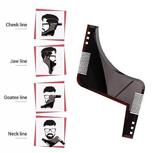 Zoom IMG-3 kindax pettine modello barba all