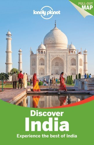 Portada del libro Lonely Planet Discover India (Travel Guide) by Lonely Planet (2013-12-01)