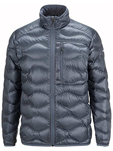Herren Fleecejacke Peak Performance Black Light Helium Fleecejacke grisaille